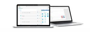 PromentorWeb auki kahdella tietokoneella