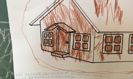 Päiväkoti Ågelin kolmevuotiaat aloittivat Moomin Language Schoolin
